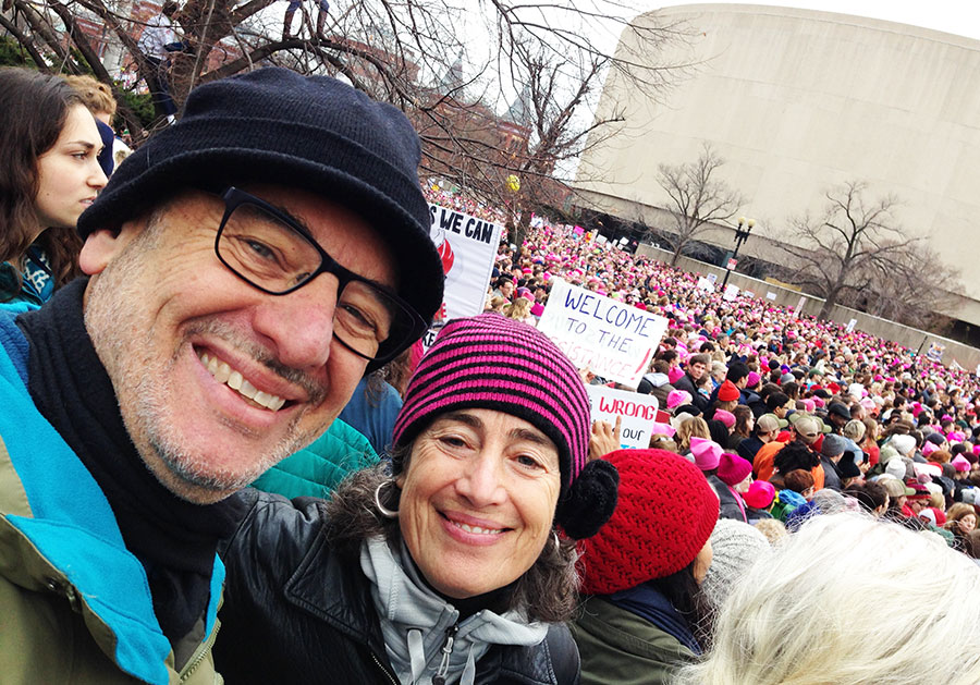 Katharine&Eric-1-WomensMarch-web