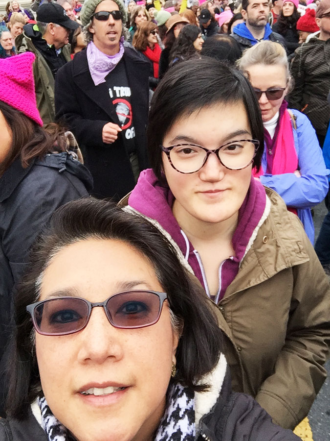 NinaF&Isabella-WomensMarch-web