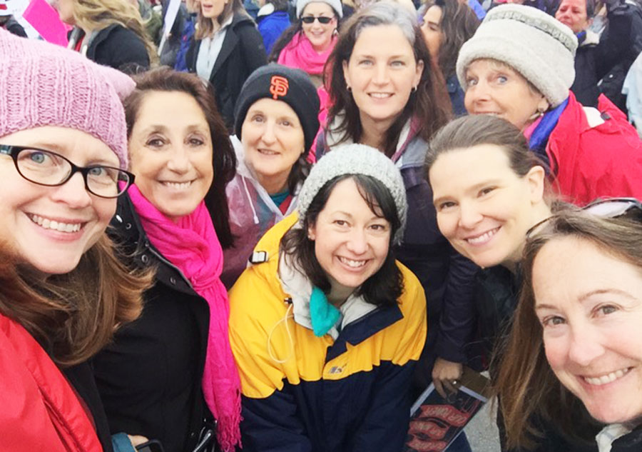 Teeka-Maggie-Betsy-Amy-Keira-Sara-Monica+More--WomensMarch-web